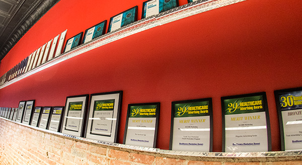 SCORR HQ_Award Wall